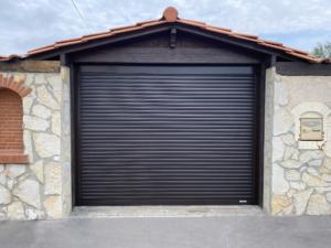 Porte de garage après