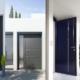 Porte d'entrée ALU, PVC et BOIS